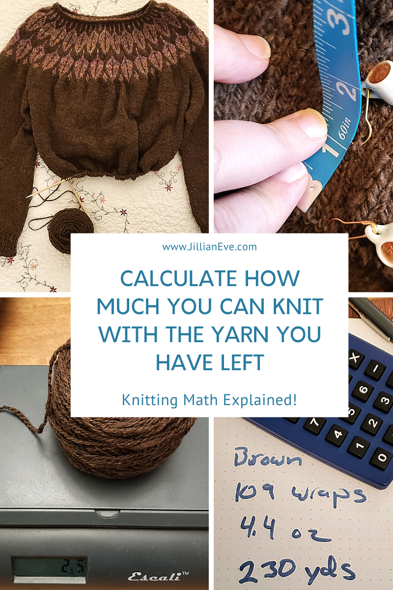 How I Avoid Running Out of Yarn by Using Math