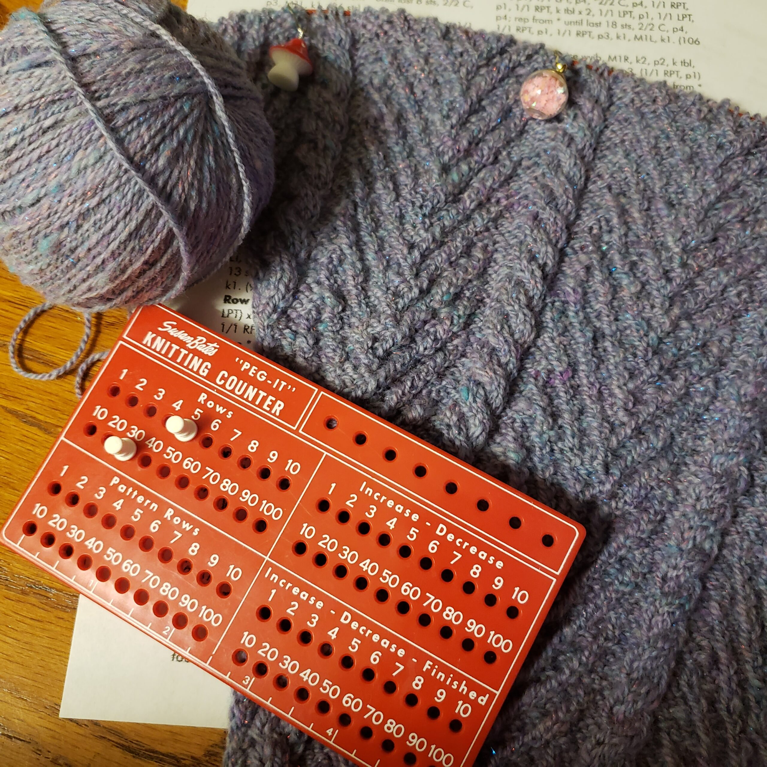Handspun Yarn for a Knitting Project and an Interview with Aroha Knits